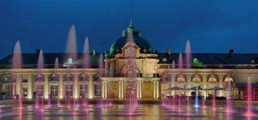 Kurpark Bad Oeynhausen Kaiserpalast beleuchtet